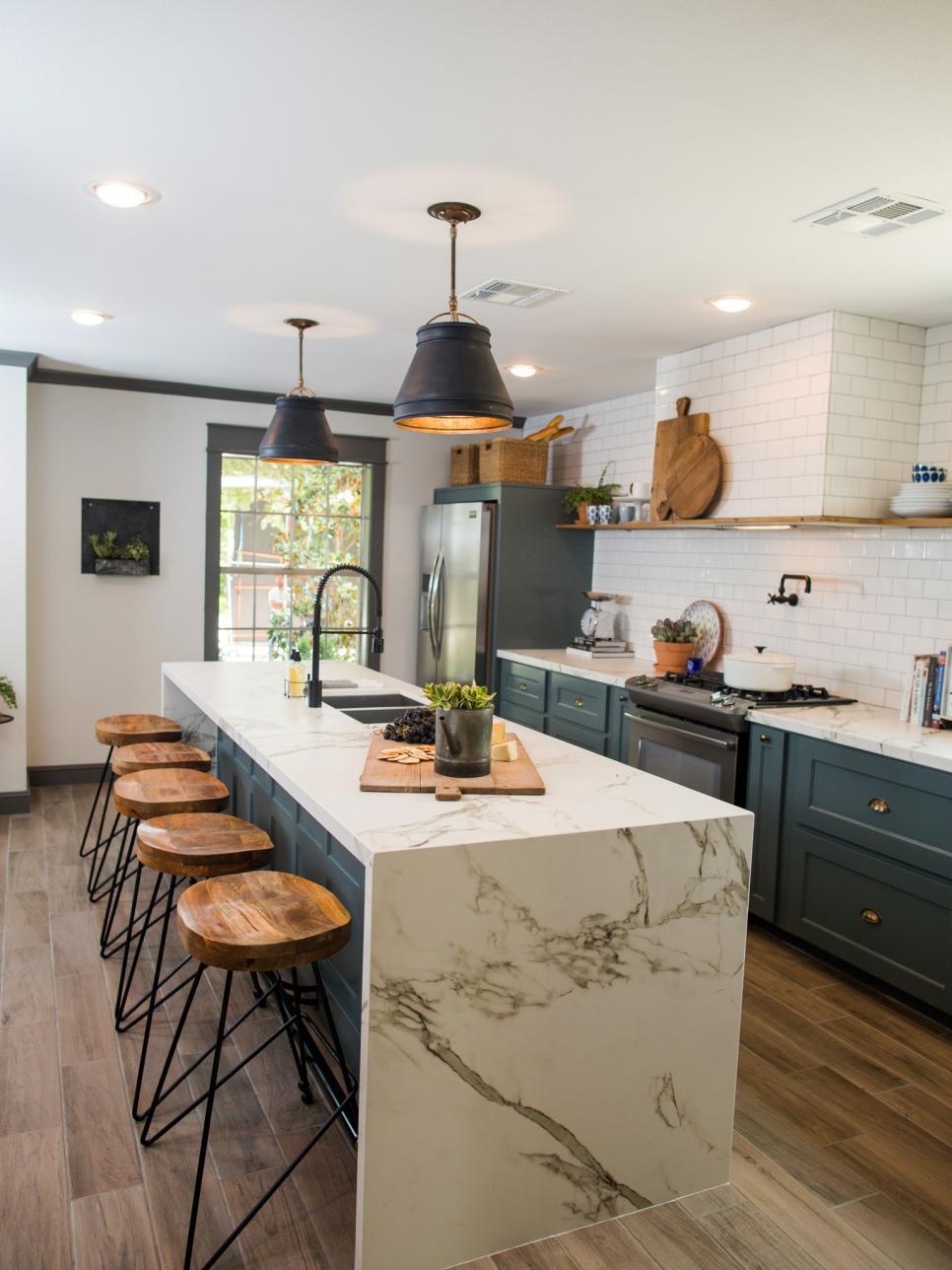 Cosentino usa dekton aura featured in hgtv s fixer upper for The kitchen island